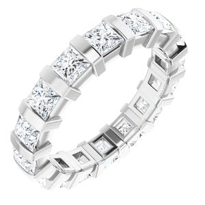 Platinum 2 1/2 CTW Diamond Eternity Band