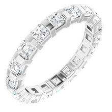Load image into Gallery viewer, Platinum 1 3/4 CTW Diamond Eternity Band