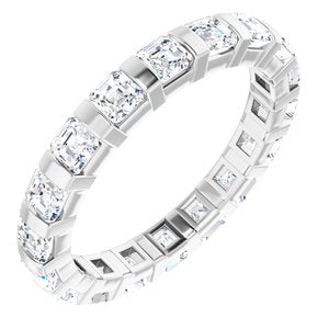 Platinum 1 3/4 CTW Diamond Eternity Band