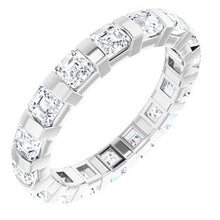 Load image into Gallery viewer, 14K White 3/8 CTW Diamond Eternity Band