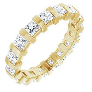 14K Yellow 2 1/2 CTW Diamond Eternity Band