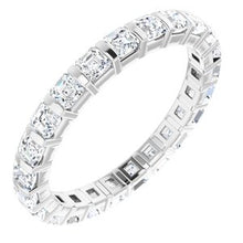 Load image into Gallery viewer, Platinum 1 1/3 CTW Diamond Eternity Band