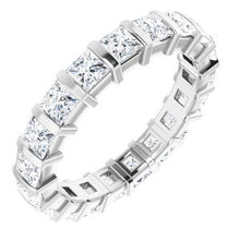 Load image into Gallery viewer, Platinum 2 CTW Diamond Eternity Band