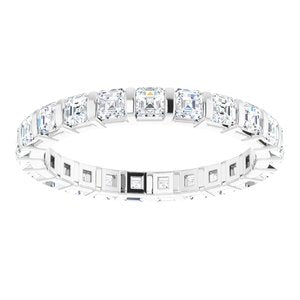 Platinum 1 1/3 CTW Diamond Eternity Band