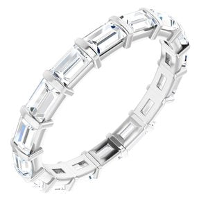 14K White 1 3/4 CTW Diamond Eternity Band