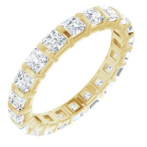 14K Yellow 2 CTW Diamond Eternity Band