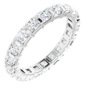 14K White 2 CTW Diamond Eternity Band