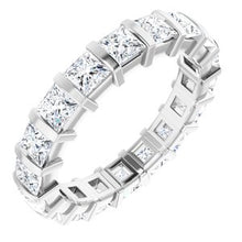 Load image into Gallery viewer, 14K White 2 3/4 CTW Diamond Eternity Band