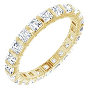 14K Yellow 2 1/8 CTW Diamond Eternity Band