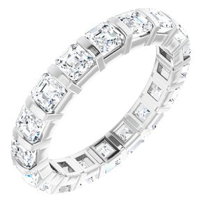14K White 2 3/4 CTW Diamond Eternity Band