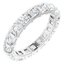 Load image into Gallery viewer, Platinum 2 3/4 CTW Diamond Eternity Band