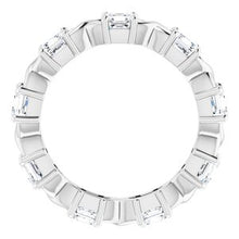Load image into Gallery viewer, 14K White 1 5/8 CTW Diamond Eternity Band