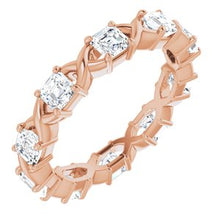 Load image into Gallery viewer, 14K Rose 1 5/8 CTW Diamond Eternity Band