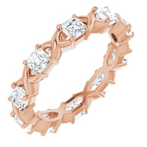 14K Rose 1 5/8 CTW Diamond Eternity Band