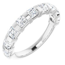 Load image into Gallery viewer, Platinum 1 3/8 CTW Diamond Anniversary Band