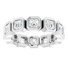 Load image into Gallery viewer, Platinum 2 1/4 CTW Diamond Eternity Band