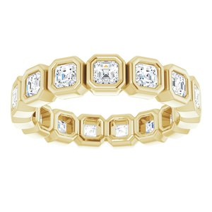 14K Yellow 1 5/8 CTW Diamond Eternity Band