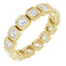 Load image into Gallery viewer, 14K Yellow 1 1/2 CTW Diamond Eternity Band