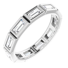 Load image into Gallery viewer, Platinum 1 CTW Diamond Eternity Band