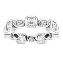 Load image into Gallery viewer, Platinum 1 3/8 CTW Diamond Eternity Band