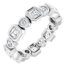 Load image into Gallery viewer, Platinum 1 5/8 CTW Diamond Eternity Band