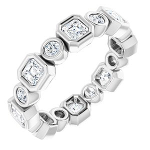 Platinum 1 5/8 CTW Diamond Eternity Band