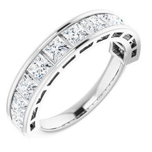 Load image into Gallery viewer, Platinum 1 3/4 CTW Diamond Anniversary Band