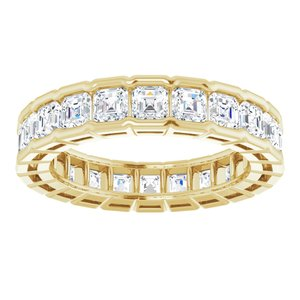 14K Yellow 2 3/8 CTW Diamond Eternity Band