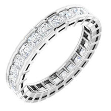Load image into Gallery viewer, 14K White 1 1/2 CTW Diamond Eternity Band