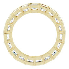 Load image into Gallery viewer, 14K Yellow 3 CTW Diamond Eternity Band