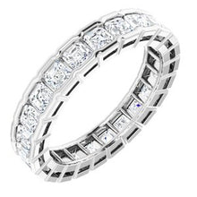 Load image into Gallery viewer, 14K White 2 1/3 CTW Diamond Eternity Band