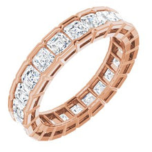 Load image into Gallery viewer, 14K Rose 3 1/3 CTW Diamond Eternity Band
