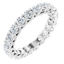 Load image into Gallery viewer, Platinum 2 1/5 CTW Diamond Eternity Band
