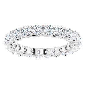 Platinum 2 1/5 CTW Diamond Eternity Band
