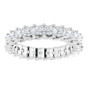Platinum 2 3/8 CTW Diamond Eternity Band