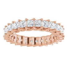Load image into Gallery viewer, 14K Rose 2 3/8 CTW Diamond Eternity Band