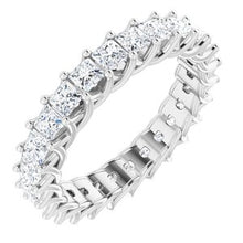 Load image into Gallery viewer, Platinum 2 3/8 CTW Diamond Eternity Band