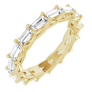 14K Yellow 1 3/8 CTW Diamond Eternity Band