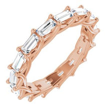 Load image into Gallery viewer, 14K Rose 1 3/8 CTW Diamond Eternity Band
