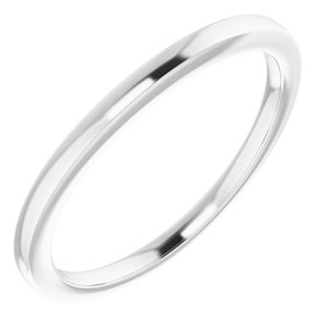 Sterling Silver Band for 4.1 mm Round Ring