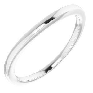 Sterling Silver Band for 10x5 mm Marquise Ring