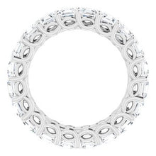 Load image into Gallery viewer, Platinum 3 1/2 CTW Diamond Eternity Band