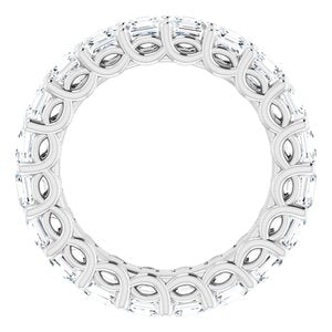Platinum 3 1/2 CTW Diamond Eternity Band