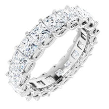 Load image into Gallery viewer, 14K White 3 1/3 CTW Diamond Eternity Band