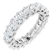 Load image into Gallery viewer, 14K White 3 1/2 CTW Diamond Eternity Band