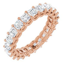 Load image into Gallery viewer, 14K Rose 2 1/3 CTW Diamond Eternity Band