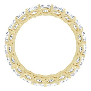 14K Yellow 3 CTW Diamond Eternity Band