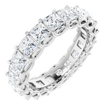 Load image into Gallery viewer, 14K White 3 CTW Diamond Eternity Band
