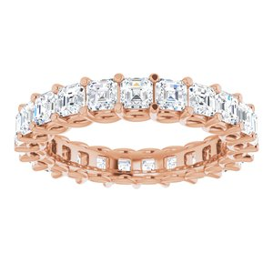 14K Rose 2 1/3 CTW Diamond Eternity Band
