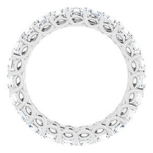 Load image into Gallery viewer, Platinum 2 1/3 CTW Diamond Eternity Band